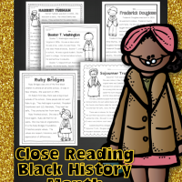 Black History Month Close Reading and Text Coding Unit