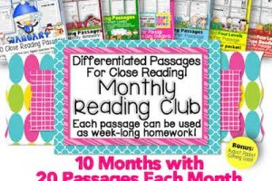 Red, Hot & Boom! Monthly Close Reading Club Sale