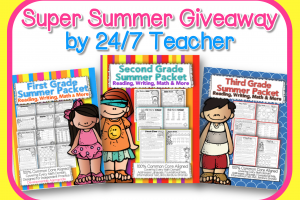 Common Core Summer Sale {Reading, Writing, and Math Packs}