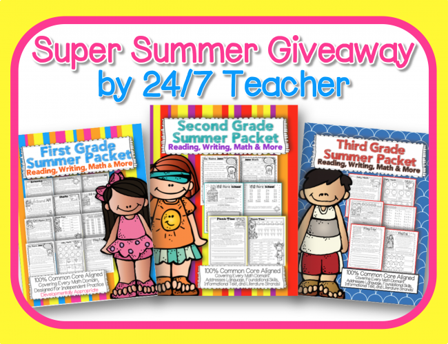 Super Summer Giveaway Featured Image