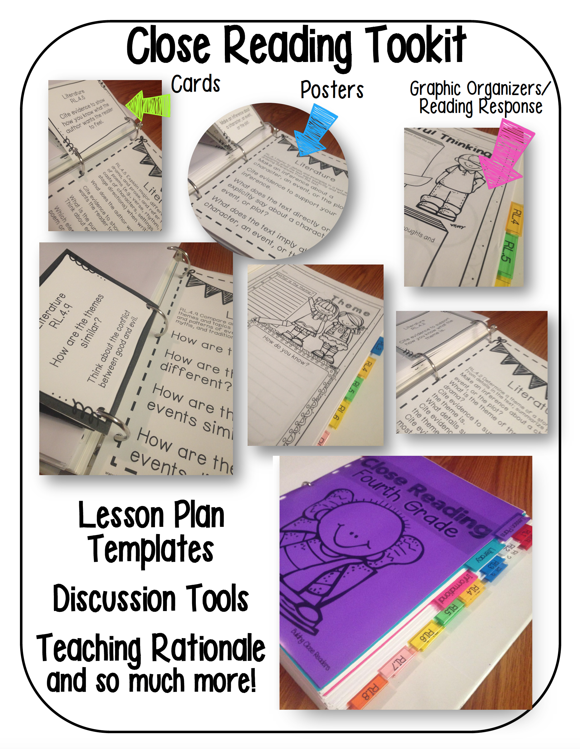 Close Reading Toolkit Preview