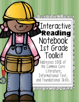 1st Grade Interactive Notebook