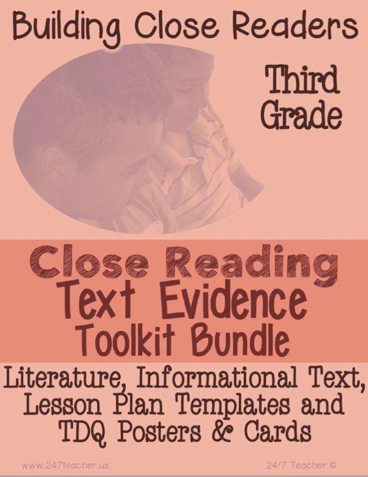 247 Teacher LLC Back 2 School Teacher Resources!. Home of Leveled Close Reading Passages